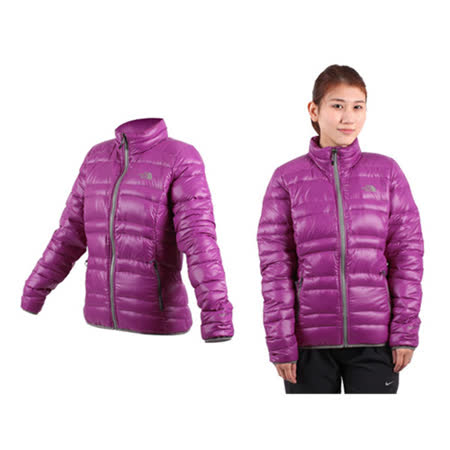(女) THE NORTH FACE 600FILL 羽絨外套 紫灰