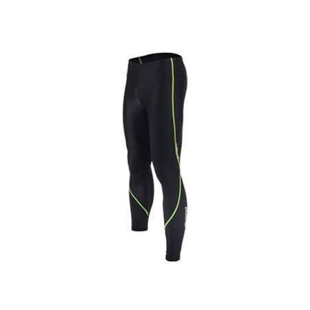 (男女) INSTAR 蛻變緊身長褲- 台灣製 慢跑 路跑 內搭褲 束褲 螢光綠