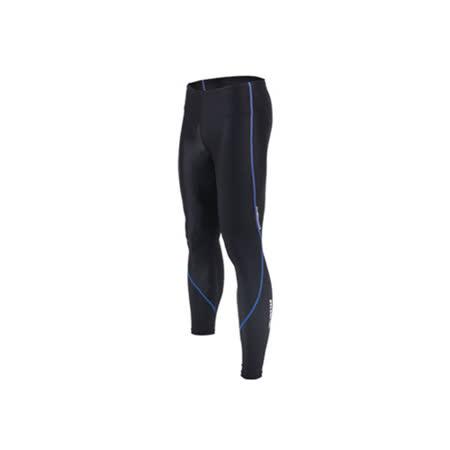 (男女) INSTAR 蛻變緊身長褲- 台灣製 慢跑 路跑 內搭褲 束褲 水藍