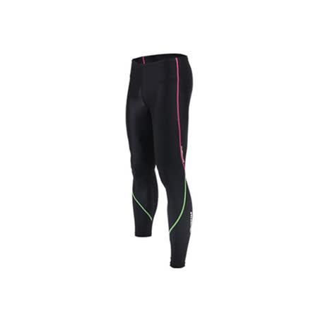 (男女) INSTAR 蛻變緊身長褲- 台灣製 慢跑 路跑 內搭褲 束褲 桃紅綠