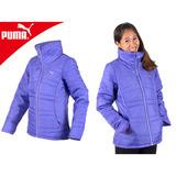 PUMA女運動外套-鋪棉外套 休閒外套 保暖 立領 淺紫 XL