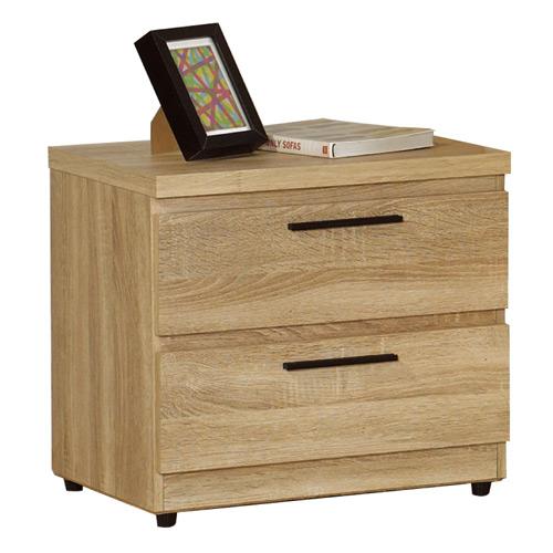 【幸福屋】艾爾達橡木紋床頭櫃