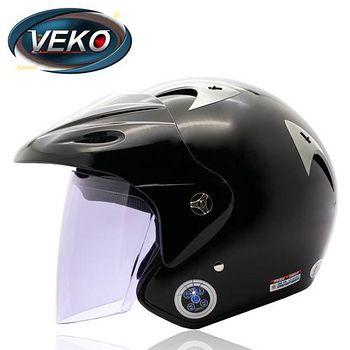 VEKO 藍芽4.0立體聲專利安全帽 (BTS-M1黑)