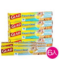 美國GLAD<br/>神奇密封保鮮膜6入