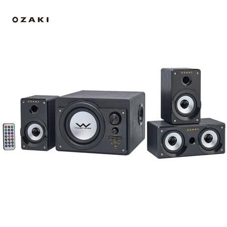OZAKI 新一代3.1聲道CS3150R 風潮機喇叭