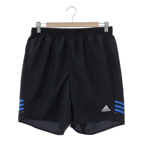 adidas (男)運動舒適短褲-黑-AC2141