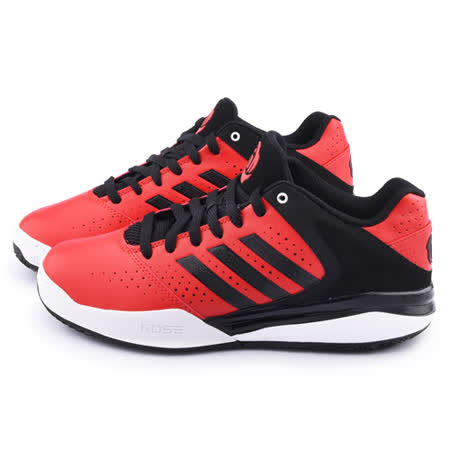 Adidas 男款D ROSE ENGLEWOOD TD 籃球運動鞋S83792-紅黑