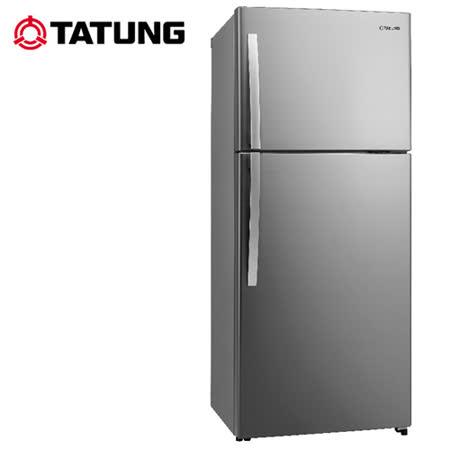 TATUNG大同 480L環保1級能源雙門冰箱TR-B580VD-RS 送安裝