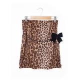 【日本portcros】豹紋窄裙-豹紋