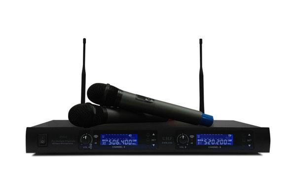 [促銷] EAGLE 專業級全自動掃瞄UHF頻道無線麥克風(EWM-R96) 送Ardi手機藍芽遙控器
