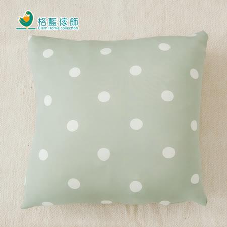 【格藍】印花抱枕套(42x42CM)-抹茶綠