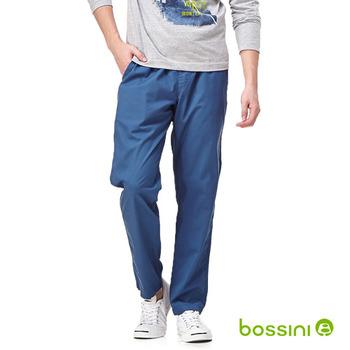 bossini男裝-輕便長褲01孔雀藍
