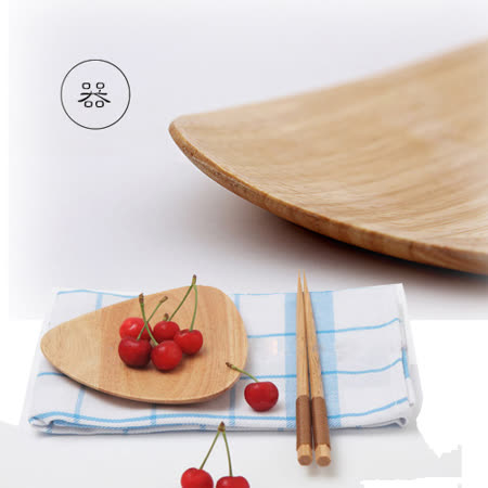 【Homely Zakka】木趣食光木質小碟(三角)