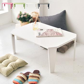《舒適屋》鏡面設計可摺疊NB桌/和室桌/茶几桌/兒童書桌(4色可選)