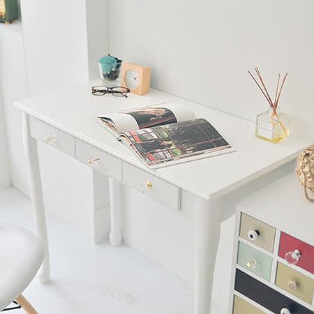 《Peachy life》公主美學雙抽電腦桌/化妝桌/工作桌/書桌