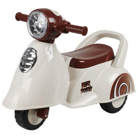 寶貝樂 motorcycle機車學步車/助步車-白色