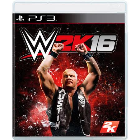 普雷伊 PS3 WWE 2K16 亞洲英文版