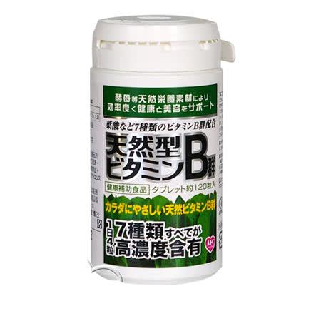 【AFC宇勝淺山天然維他命B群錠120粒裝/瓶】天然酵母萃取精華而成