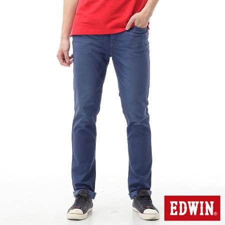EDWIN AB褲 迦績褲JERSEYS涼感色褲-男-藍色