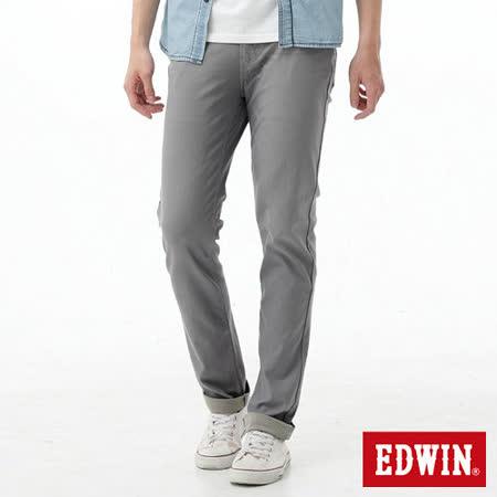 EDWIN 迦績褲JERSEYS涼感色褲-男-淺灰色