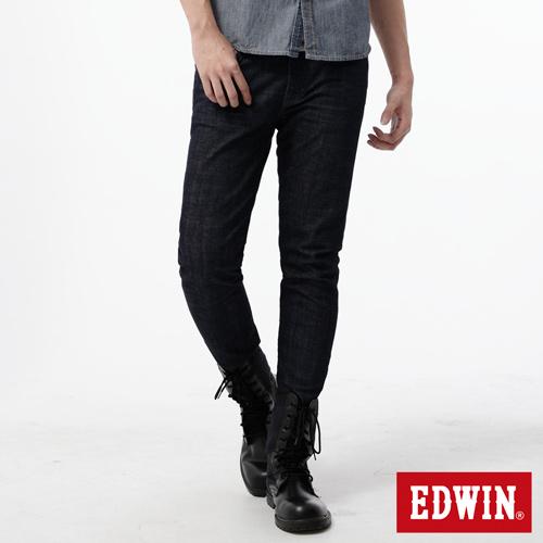 EDWIN EDGE LINE 窄直筒牛仔褲~男~原藍色