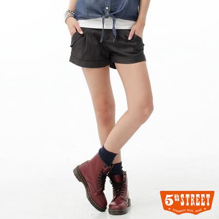 5th STREET 燙鑽西裝短褲-女-灰色