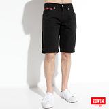 EDWIN XV拉鍊短褲-男款(黑色)