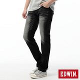 EDWIN 503 E-FUNCTION窄直筒牛仔褲-男-黑灰色