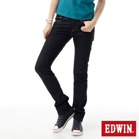 EDWIN 503ZERO窄直筒牛仔褲-女款(原藍色)