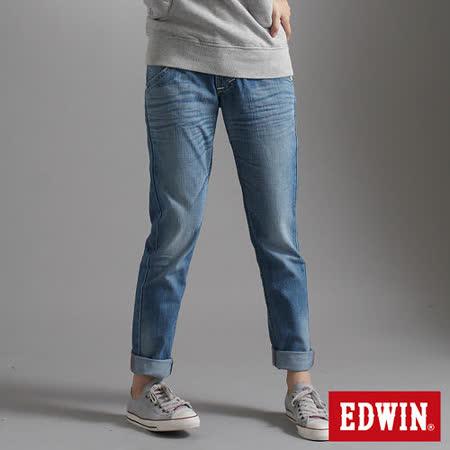 EDWIN MISS BT AB牛仔褲-女-漂淺藍