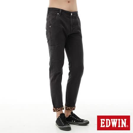 EDWIN 窄直筒 XV可反折休閒褲-男-灰色