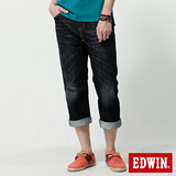 EDWIN E-F機能七分褲-男-原磨藍