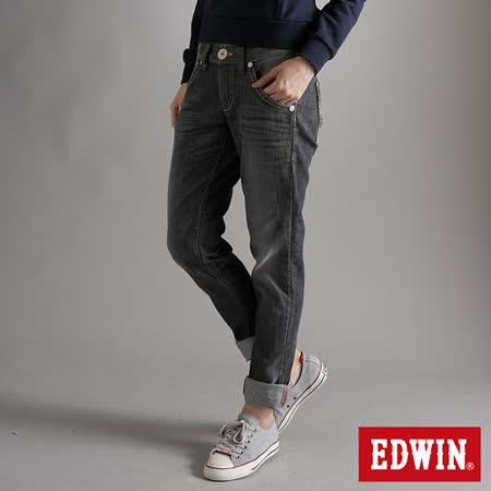 EDWIN MISS BT AB牛仔褲-女-灰色