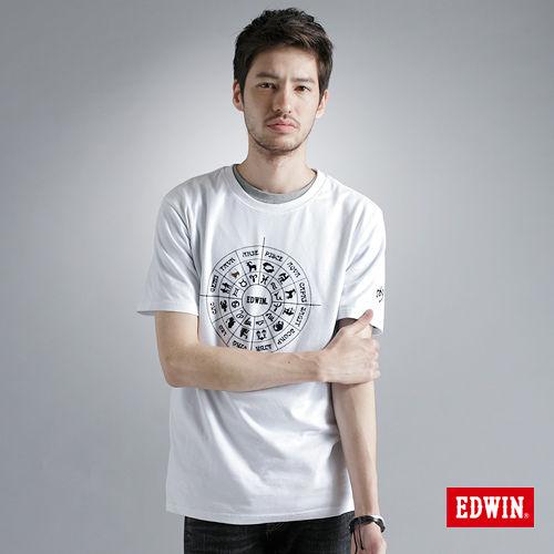 EDWIN 503星作X新作~訂製星盤篇~男款^(白色^)