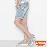 5th STREET 海洋寬鬆短褲-女款(漂淺藍)