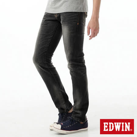 EDWIN 503ZERO TAPERED伸縮AB褲-男-灰色