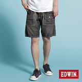 EDWIN EASY PANT綁帶短褲-男款(灰色)