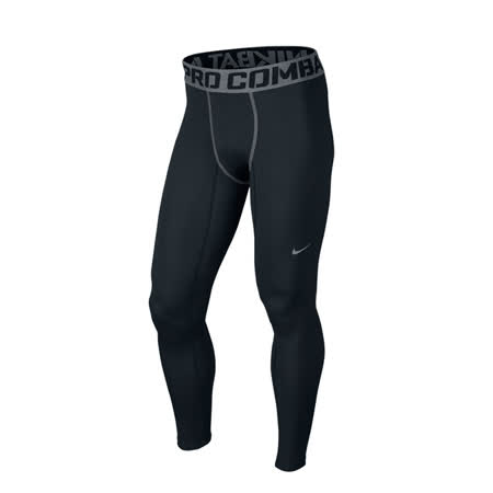 (男)NIKE PRO HYPERWARM COMPRESSION LITE 緊身褲 黑-596297010