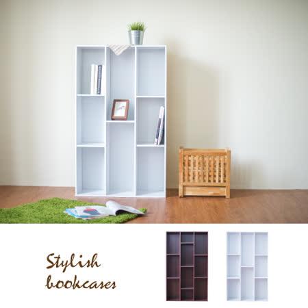 【Hopma】簡易三排書櫃-二色可選
