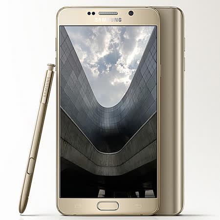 Samsung GALAXY Note 5 5.7吋智慧型手機-(4G/64G)-加送側翻皮套+螢幕保護貼