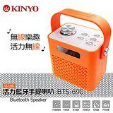 KINYO BTS-690 可遙控活力藍牙手提喇叭 (再贈好禮)