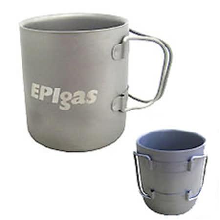 EPIgas 鈦金屬雙層杯(M) T-8104 /城市綠洲