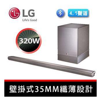 LG 樂金 4.1聲道SOUND BAR 極簡超聲霸壁掛式喇叭 NB4540
