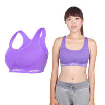 (女) ASICS 運動內衣- 韻律 有氧 運動背心 亞瑟士 淺紫