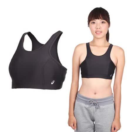 (女) ASICS 運動內衣- 背心 慢跑 路跑 亞瑟士 黑銀