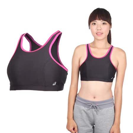 (女) ASICS 運動內衣- 背心 慢跑 路跑 亞瑟士 黑桃銀