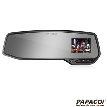 PAPAGO! GoSafe 268 SONY Exmor FullHD後視鏡行車記錄器加贈8G卡