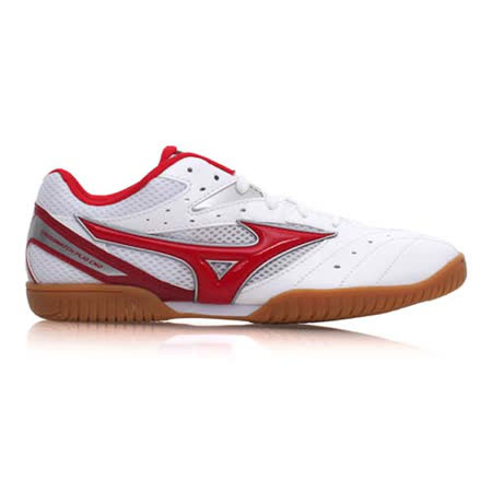 (男) MIZUNO CROSSMATCH PLIO CN2 桌球鞋- 美津濃 白紅