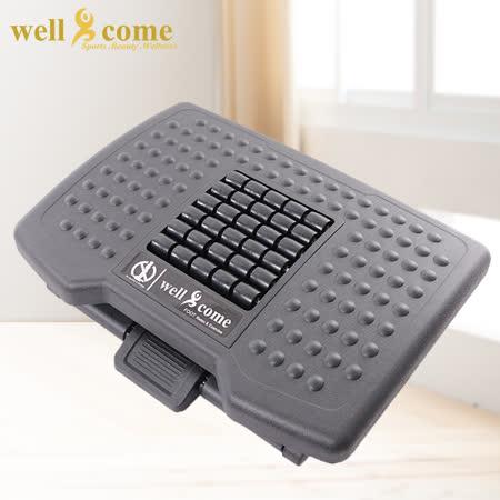 【好吉康Well Come】舒壓樂活足墊器腳踏墊-滾珠強化板
