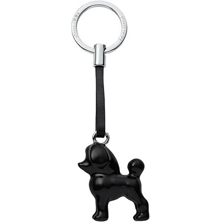 《PHILIPPI》我的狗鑰匙圈(黑貴賓犬)
